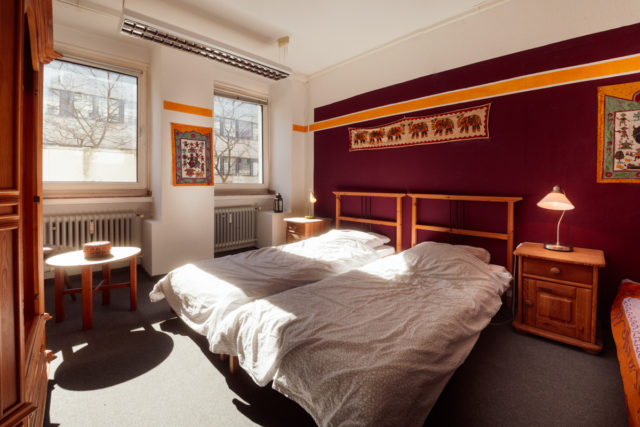 the 2-bed indian room