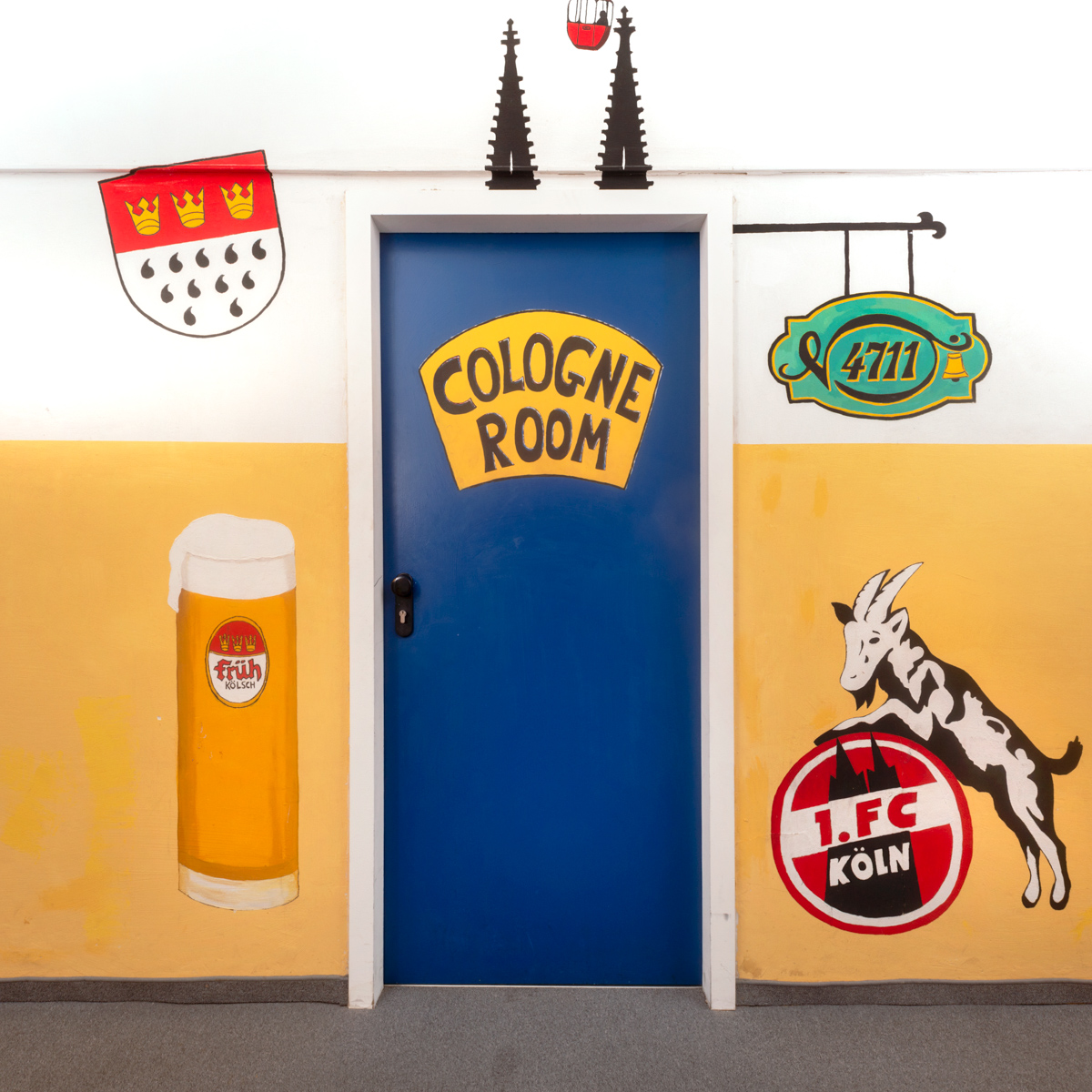 Door of the Cologne room